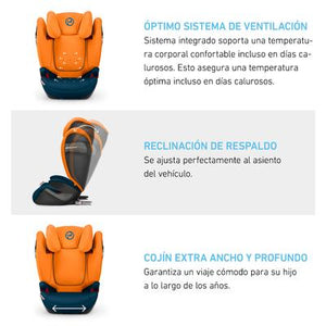 Armchair Cybex Solution S-Fix or Graco 4Ever