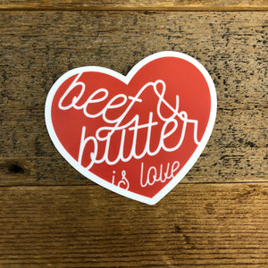 The Beef & Butter Sticker