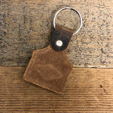 Load image into Gallery viewer, Sunrise Leather Keychain