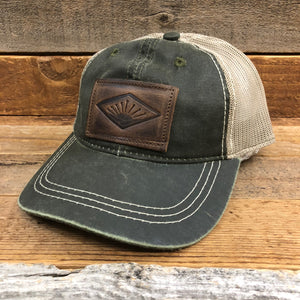 The Sunrise Patch Weathered Hat - Olive