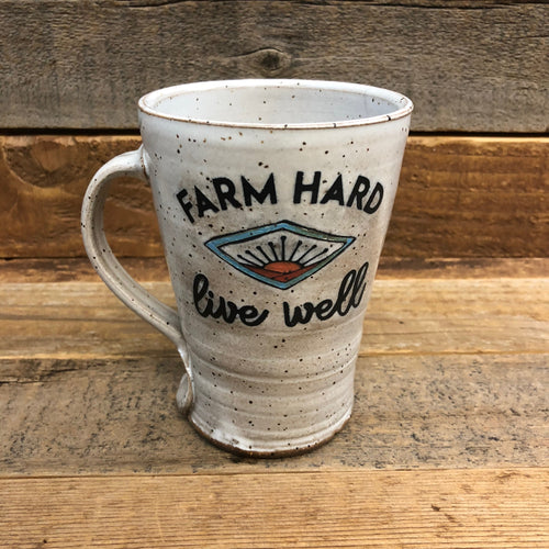 Farm Hard Live Well Mug