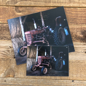 Old Iron (Farmall) Print