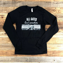 Load image into Gallery viewer, UNISEX All Gates Lead Somewhere Long Sleeve - Black
