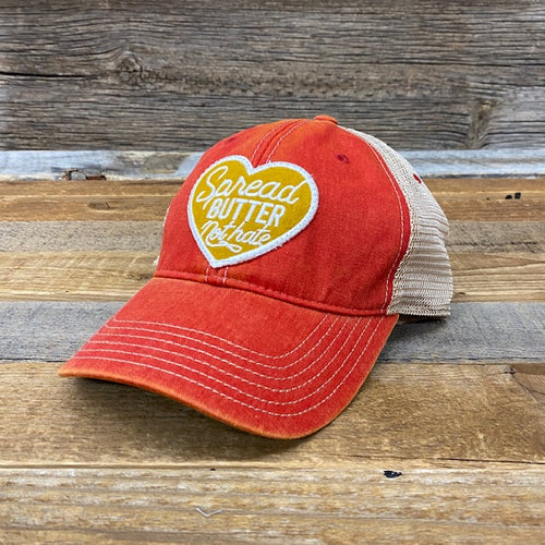 Spread Butter Patch Hat - Red
