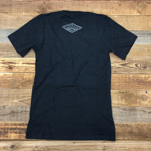 More Than Enough Tee - Heather Black