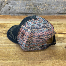 Load image into Gallery viewer, Aztec Sunrise Hat - Black