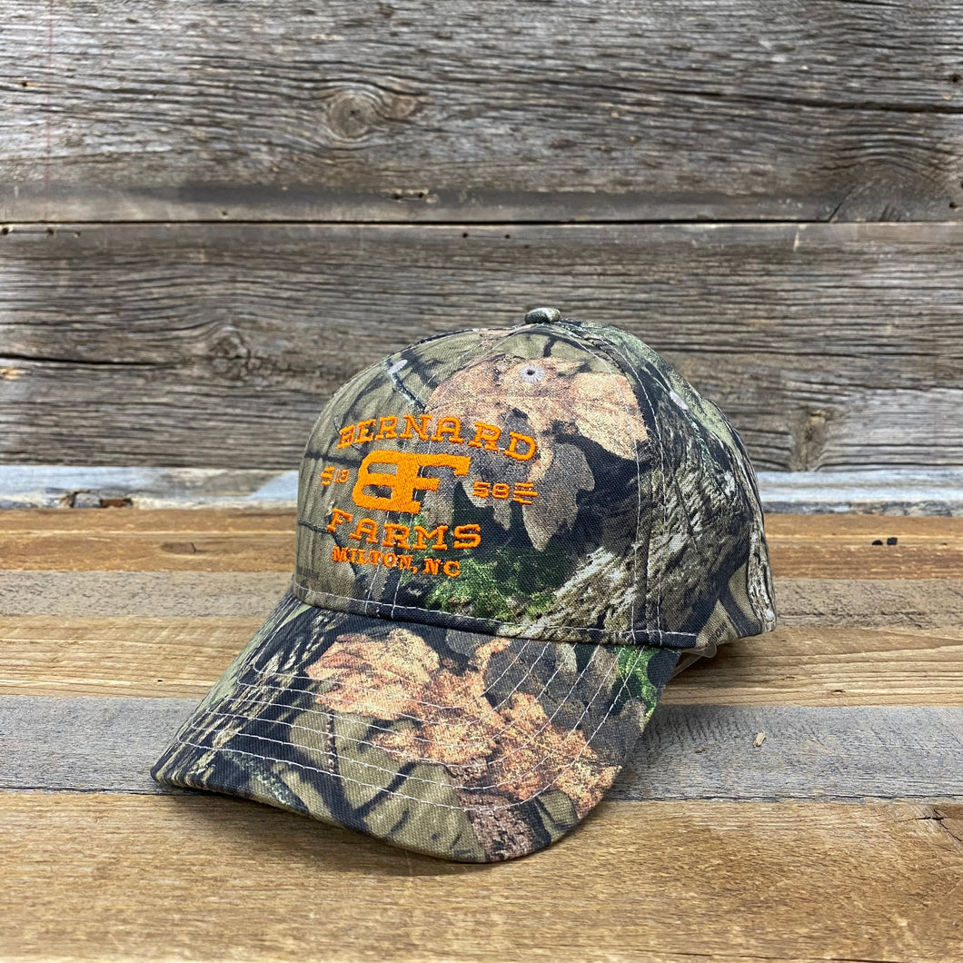 Bernard Farms Hunter Hat - Camo Twill