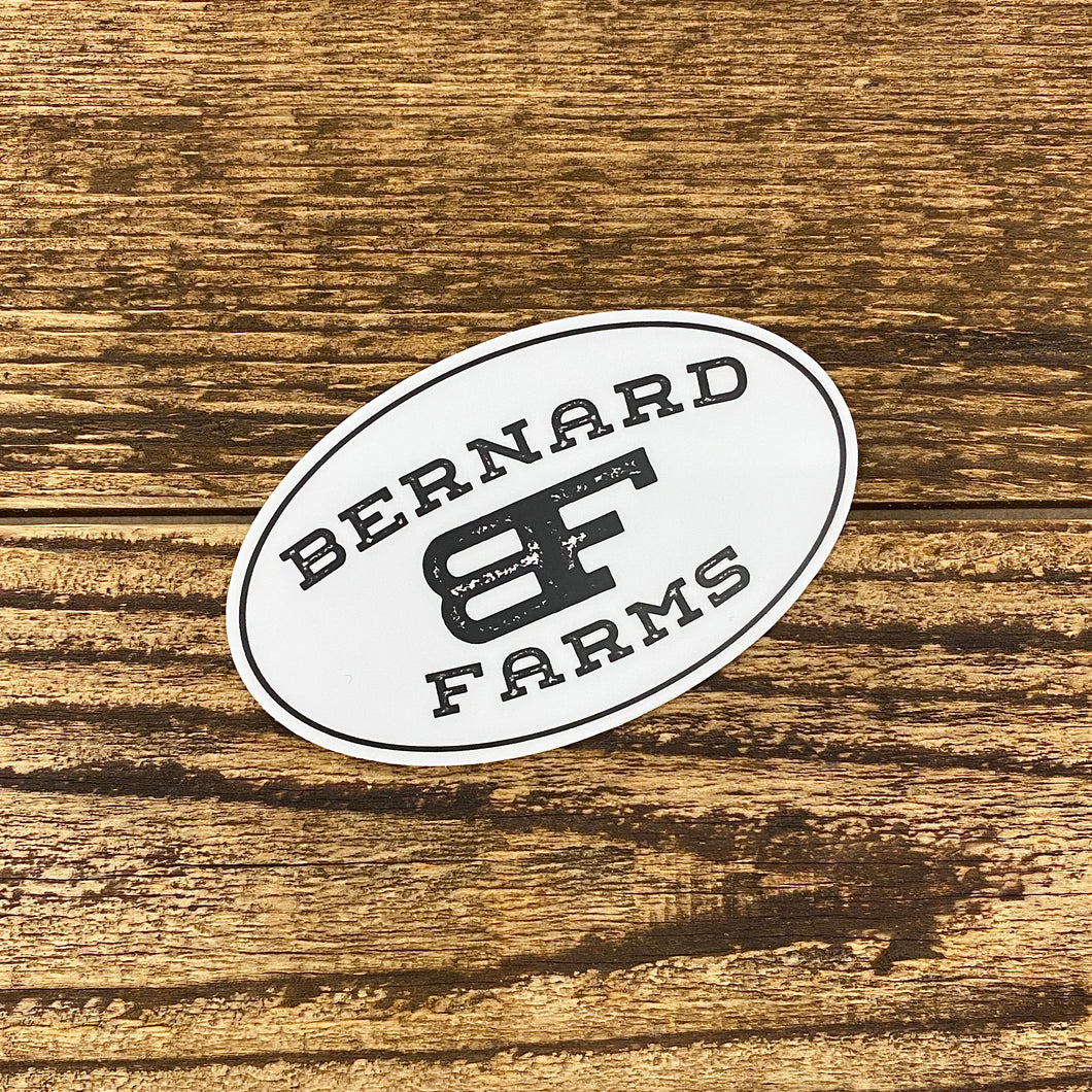 Bernard Farms Sticker