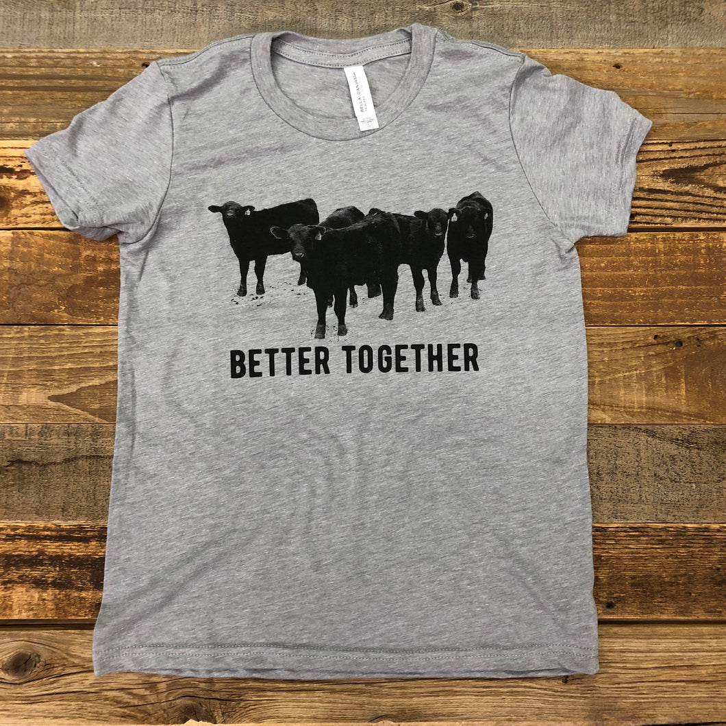 YOUTH Better Together Tee - Grey