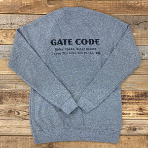 Gate Boss Crew Sweatshirt