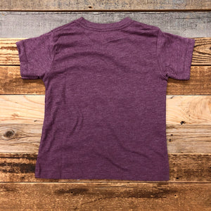 YOUTH A Little Dirt Never Hurt Tee - Heather Maroon