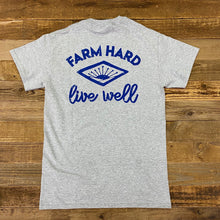 Load image into Gallery viewer, Farm Hard Sunrise Ultra Cotton Pocket Shirt - Sport Grey
