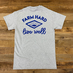 Farm Hard Sunrise Ultra Cotton Pocket Shirt - Sport Grey