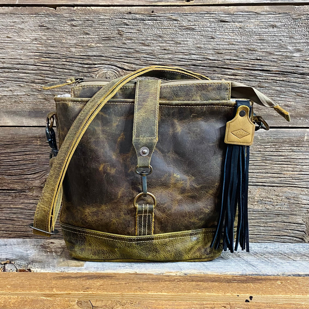 Kitty Hawk Leather Bag