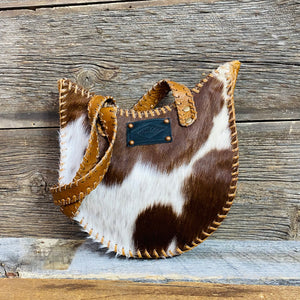 Maybelle Leather & Hairon Bag