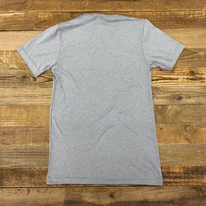 UNISEX American Fed Beef Tee - Heather Grey