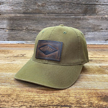 Load image into Gallery viewer, Sunrise Leather Patch Hat - Loden
