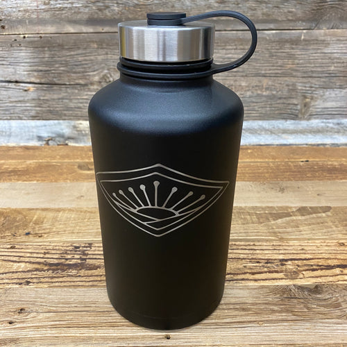 Sunrise BIG FRIG 64oz Growler - Matte Black