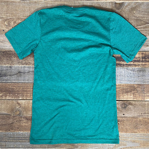 Full Bunny Tee - Heather Green