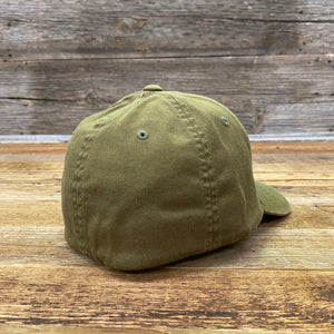 Sunrise Leather Patch Hat - Loden