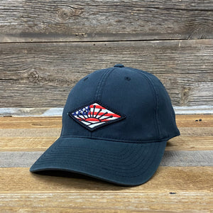 American Sunrise Flag Patch Hat | 2 Colors