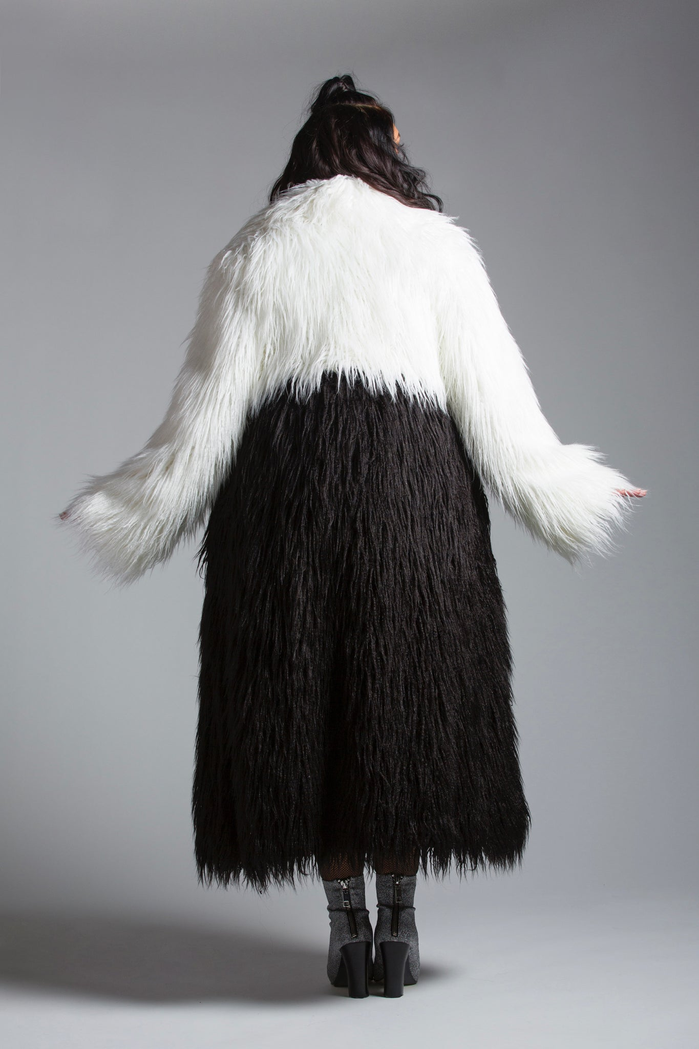Megan Faux Fur Coat