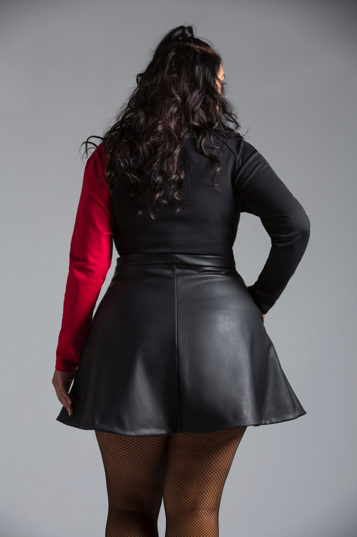 Alicia A-Line Mini Skirt