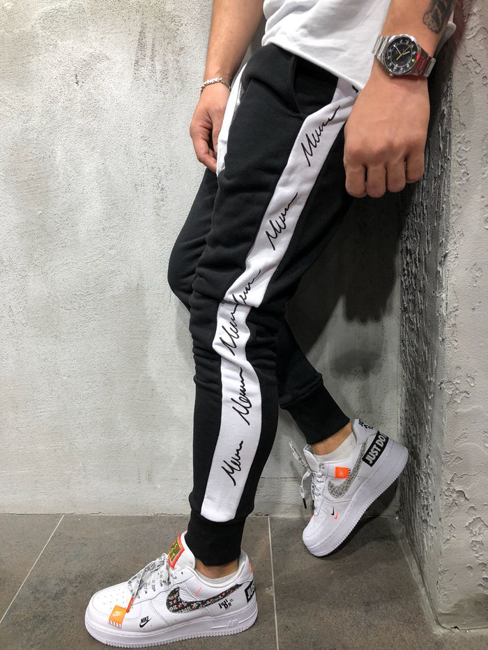 Jogger Sweatpants Side Stripes 3999