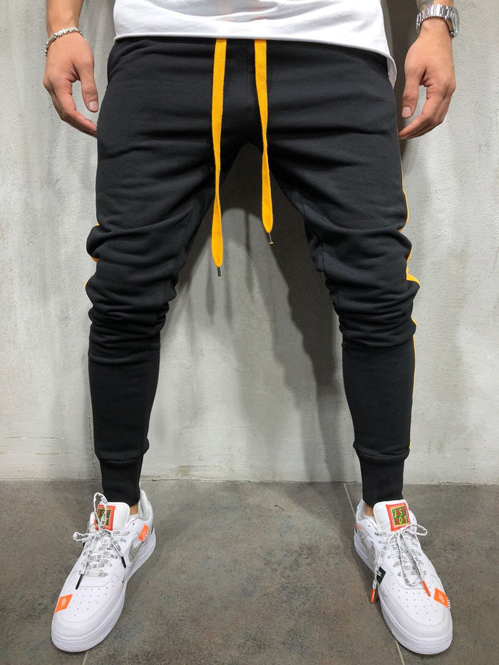 Jogger Sweatpants Side Stripes 4001