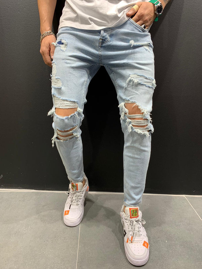 Ripped Jeans Skinny Fit 4453