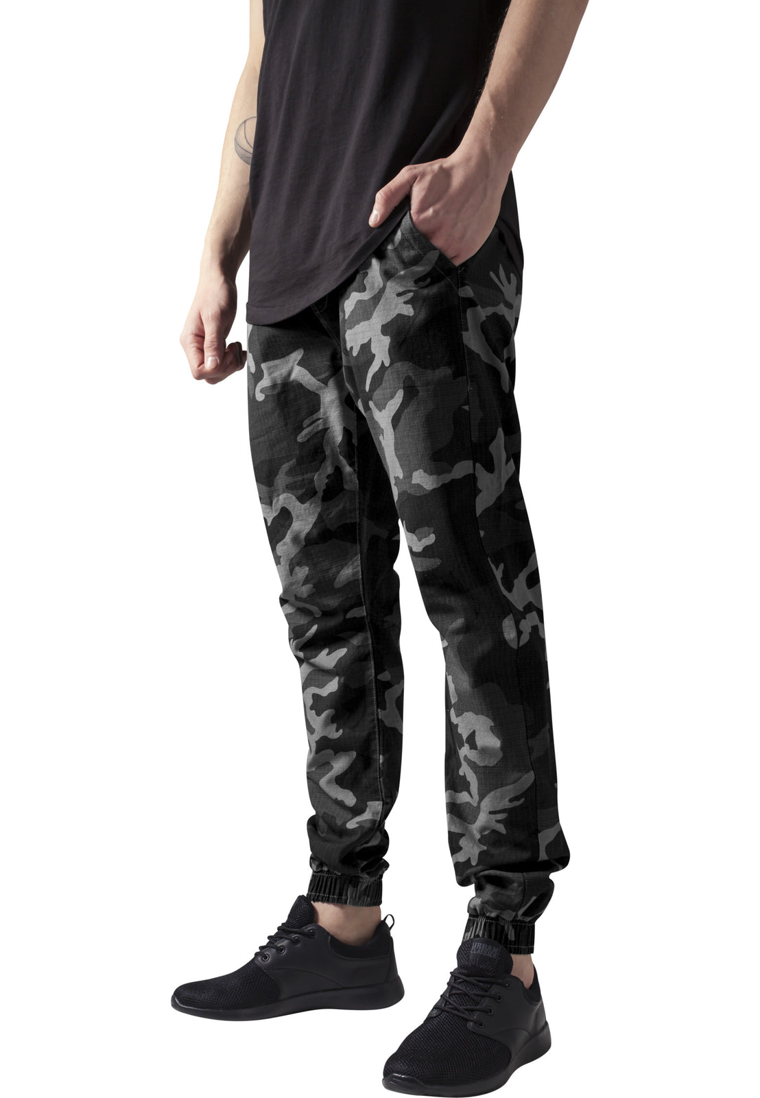 Camo Ripstop Jogging Pants darkcamo