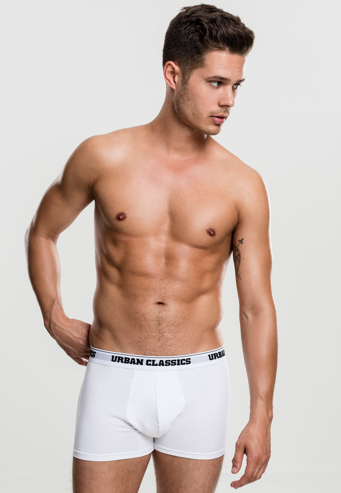 Modal Boxer Shorts Double-Pack white