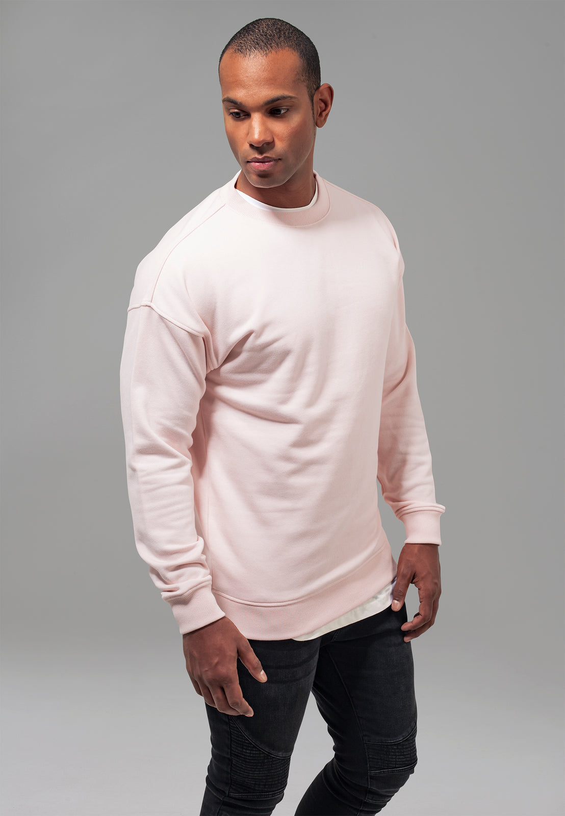 Sweat Crewneck pink