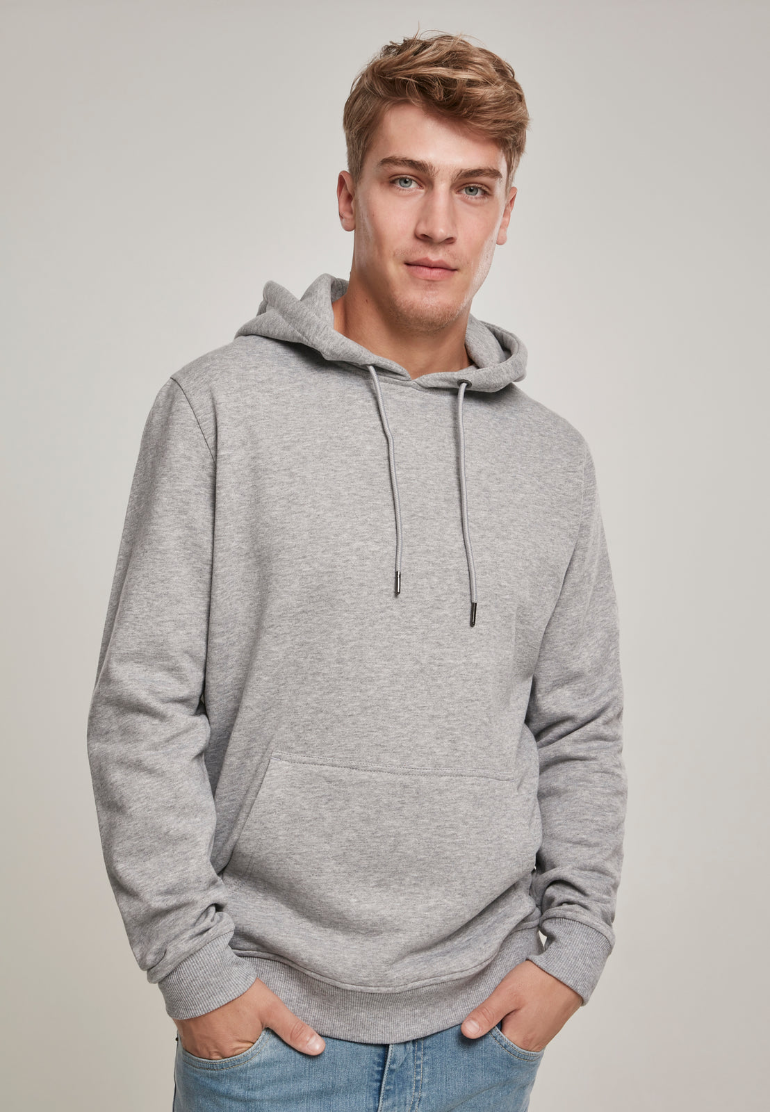 Basic Sweat Hoody grey