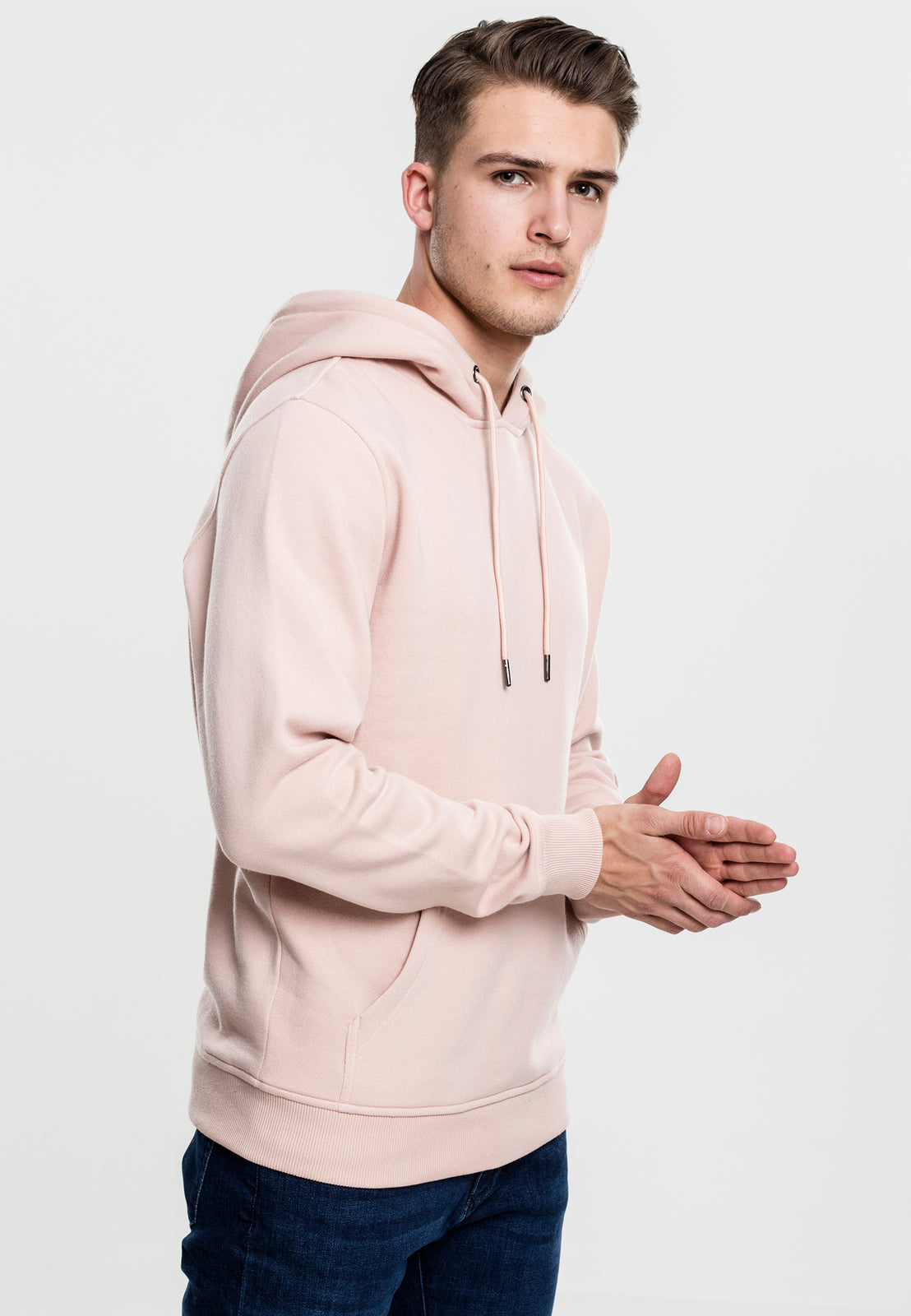 Basic Sweat Hoody lightrose