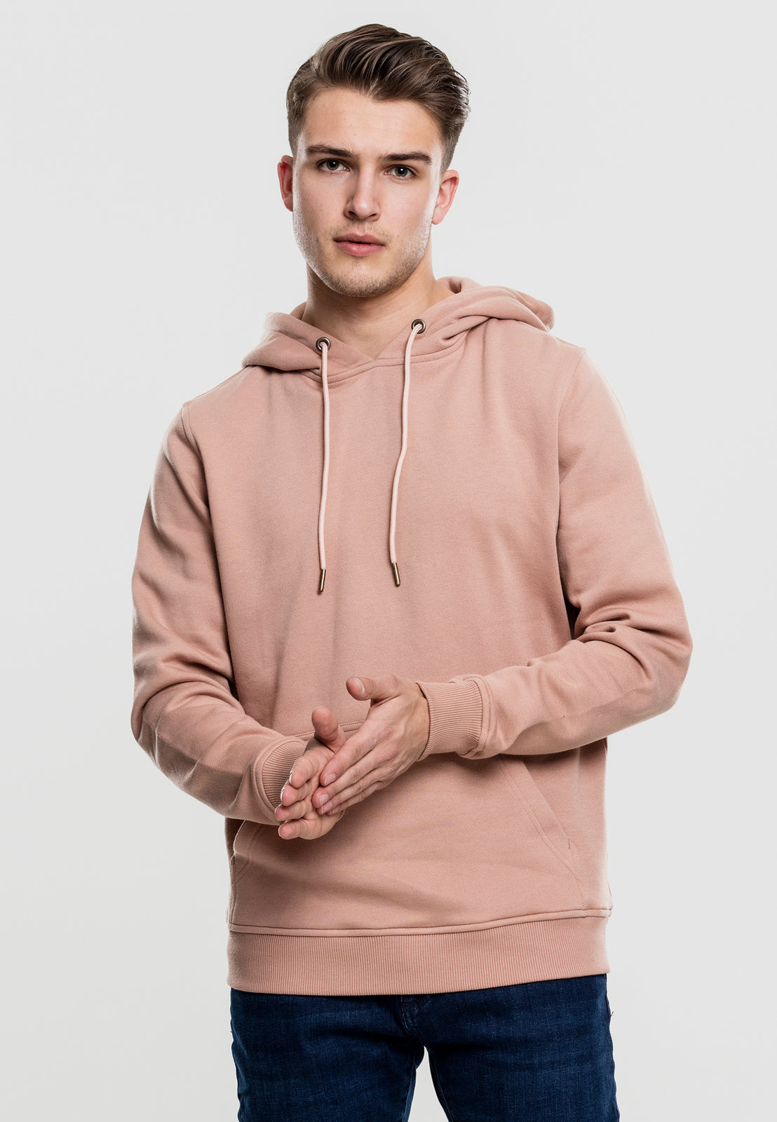 Basic Sweat Hoody amber