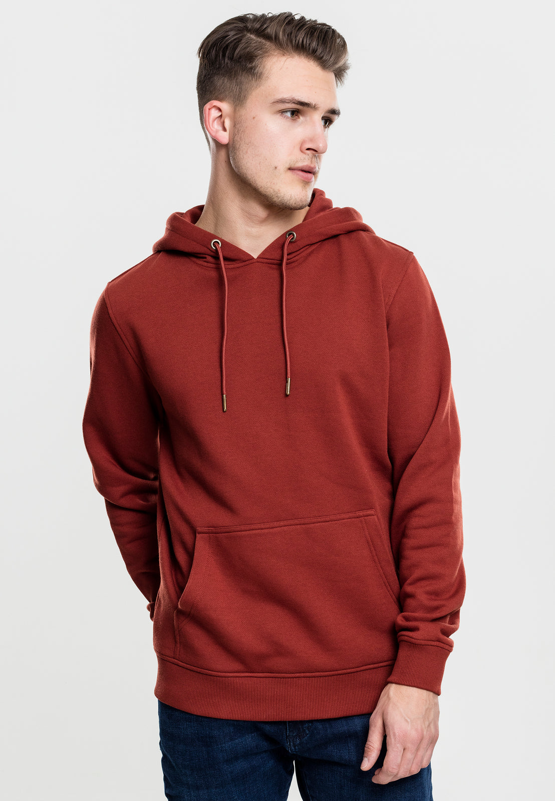Basic Sweat Hoody rusty