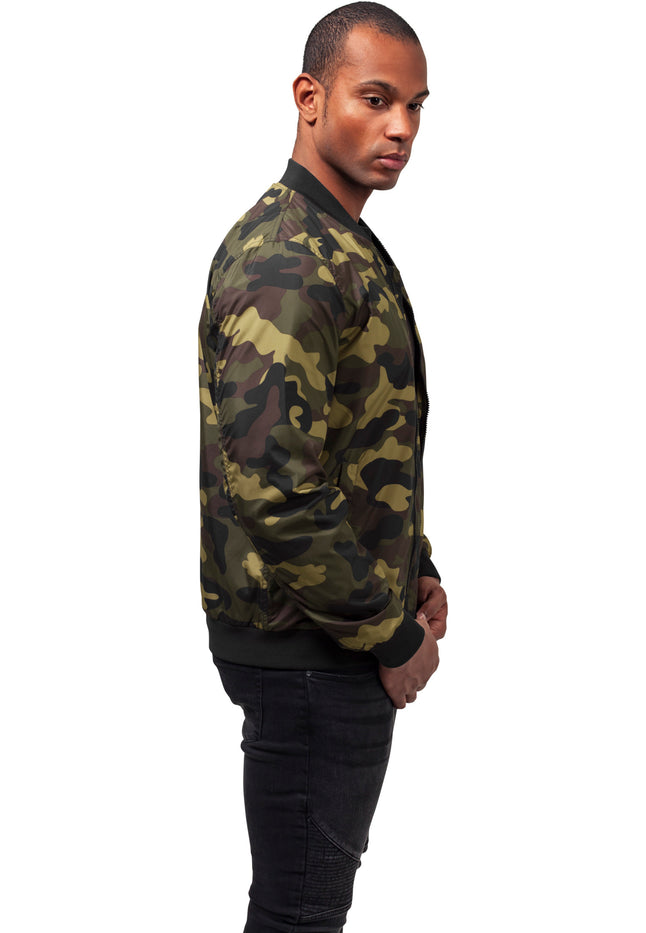 Light Camo Bomber Jacket woodcamo