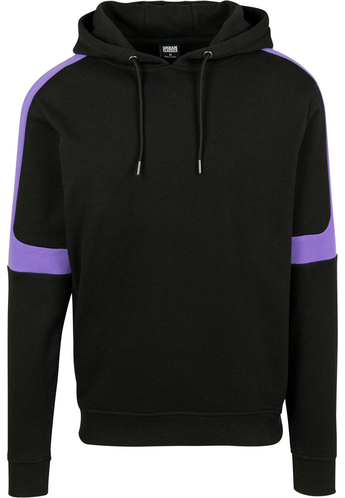 Terry Panel†Hoody black/ultraviolet/white