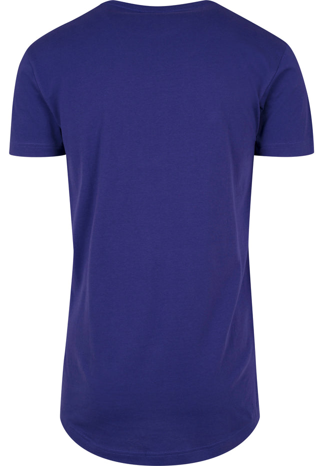 Shaped Long Tee regal purple