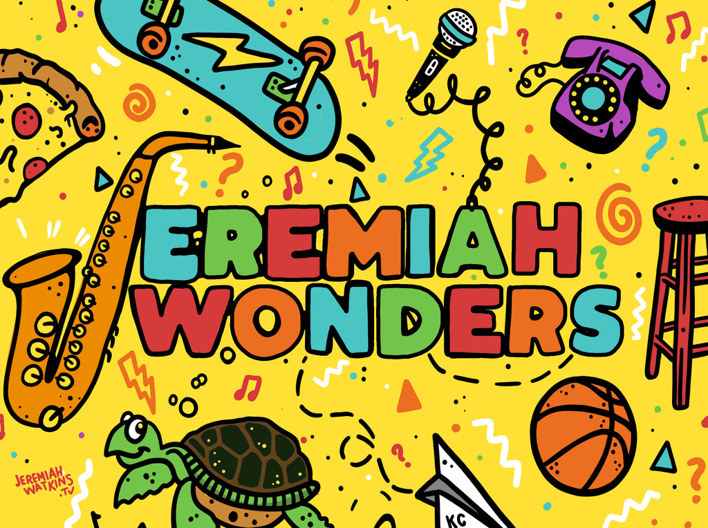 Jeremiah Wonders Sticker