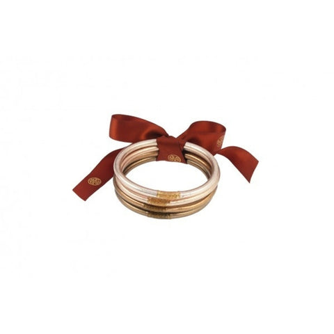 All Weather Bangles - Set of 4 - Fawn