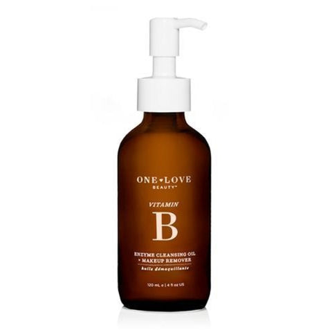 Vitamin B Enzyme Cleansing Oil + Make-Up Remover - 4 oz.