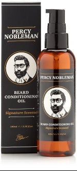 Percy Nobleman Scented Beard Oil 100ml Front