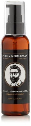 Percy Nobleman Scented Beard Oil Bottle