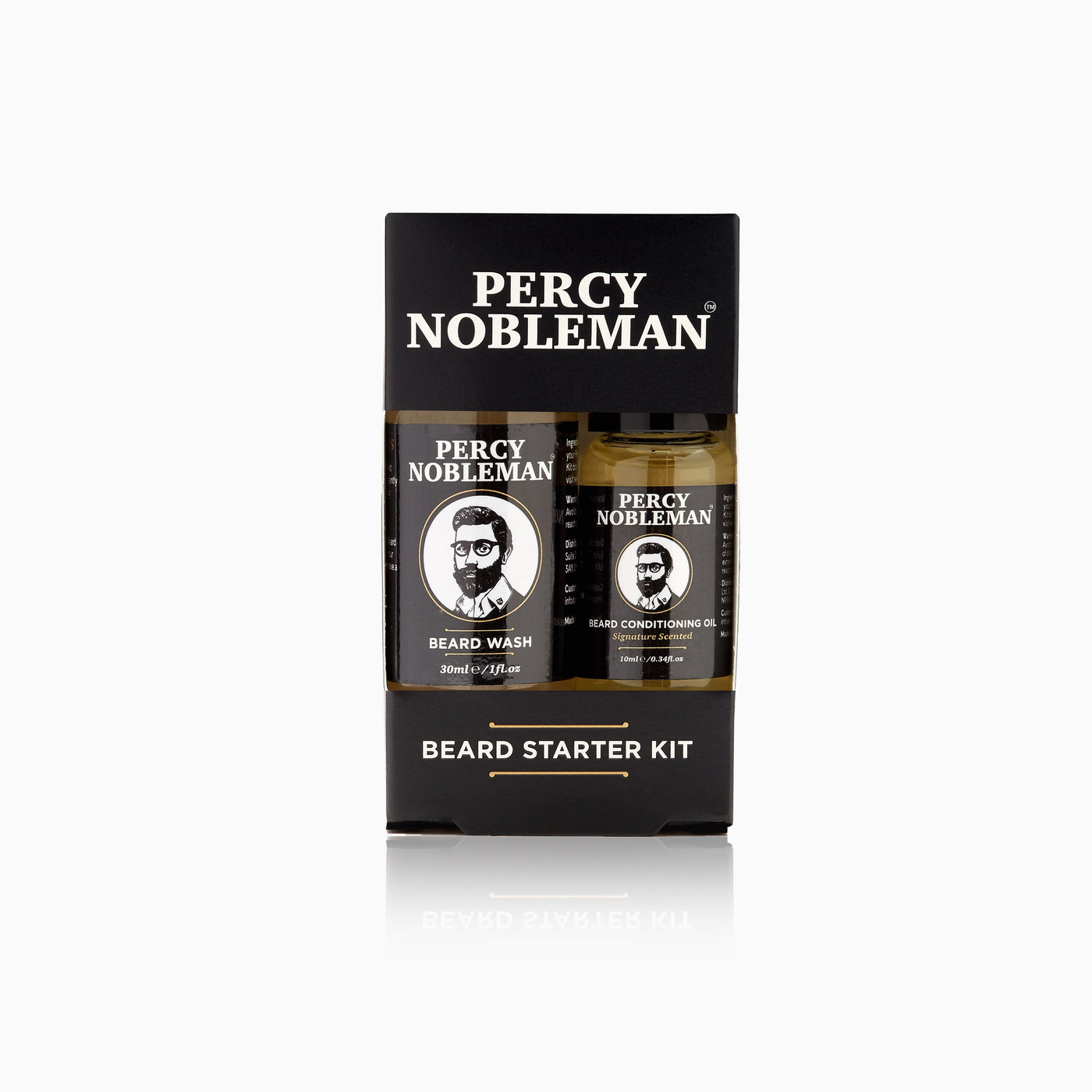 Percy Nobleman Beard Starter Kit Front