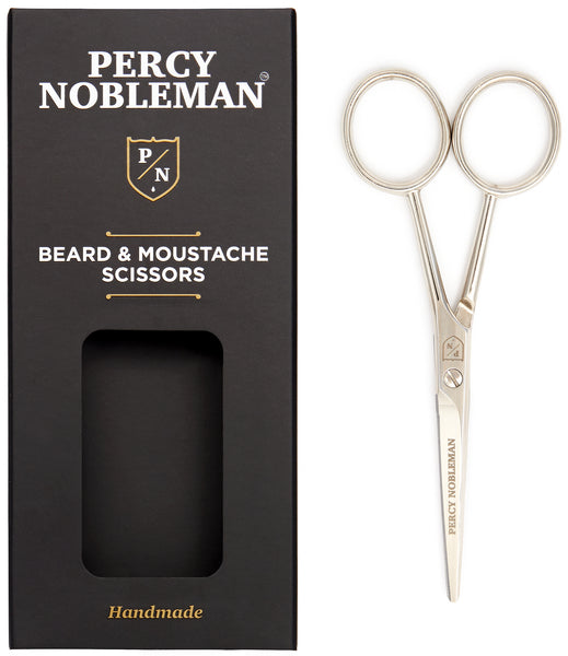 Beard and Moustache Scissors Box Open