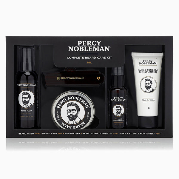 Percy Nobleman Complete Beard Care Kit Front