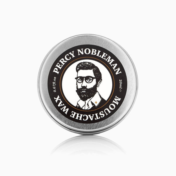 Percy Nobleman Moustache Wax Front