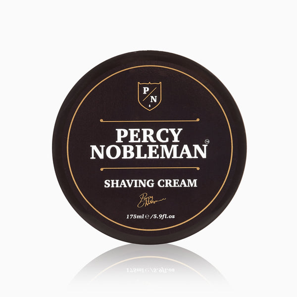 Percy Nobleman Shaving Cream 175ml Top